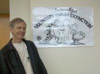 fundador del movimiento de extinción humana